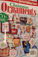 JUST CROSS STITCH Magazine 2019 SPECIAL CHRISTMAS ISSUE Christmas Ornaments 70+