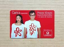 RICARICA TELEFONICA OMNITEL / VODAFONE - CARICA ESPRESSIVA - 10 EURO - 2009