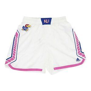 Kansas Jayhawks NCAA Adidas Women's White Uniform Shorts