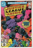Justice League of America #185 (Dec 1980 DC) JSA, New Gods, Darkseid, Crisis z