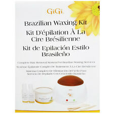 Gigi Brazilian Professional Waxing Kit Hair Removal Hard Wax Model # 0954