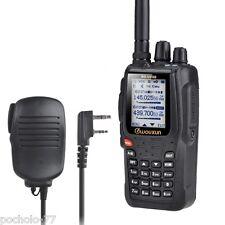 WALKIE VHF/UHF WOUXUN KGUV6D 2013 5W + MICRO ALTAVOZ + BATERIA 2600MAH NUEVO