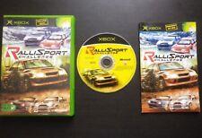 RALLISPORT CHALLENGE : JEU Microsoft XBOX (courses auto COMPLET envoi suivi)