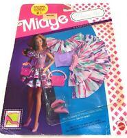 Barbie MIDGE Wedding Day Fashions Honeymoon Outfit (1990) 9634 Pink Splash
