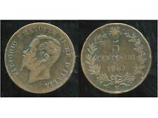 ITALIE  ITALY  5 centesimi  1867 M