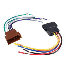 Car Stereo Female Socket Radio ISO Wire Harness Adapter Connector 12V