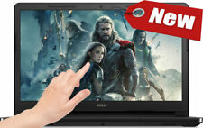 "NEW! DELL 15.6"" TouchScreen Laptop AMD 2.80GHz 4GB 1TB DVD+RW WebCam HDMI Win10"