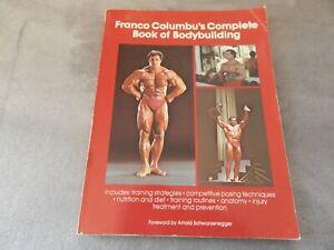 "FRANCO COLUMBU'S ""COMPLETE BOOK OF BODYBUILDING 1982  S/C"