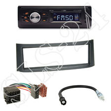 Caliber RMD022 Radio orange + Smart Roadster(BR452) Blende anthrazit+ISO Adapter