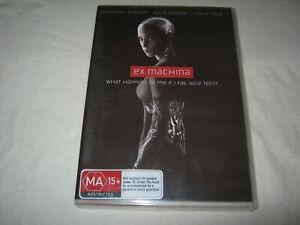 Ex Machina - Alicia Vikander - VGC - DVD - R4