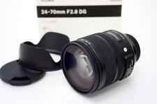 Sigma Art 24-70mm F 2.8 DG OS HSM Large Aperture Standard Zoom Lens Nikon F-FX