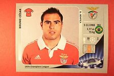 PANINI CHAMPIONS LEAGUE 2012/13 N. 473 B. CESAR BENFICA BLACK BACK MINT!