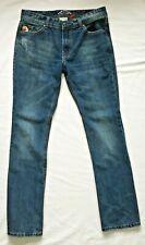 Parasuco Mike Fit Low Rise Skinny Straight Leg Denim Blue Jeans Men's Size 32