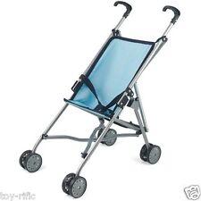 Mondo bambole passeggino pieghevole carrozzina passeggino-blu-per bambole fino a 56cm NUOVO!