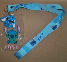 NEW Lilo & Stitch Lanyard Fast Pass Pin ID Holder