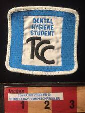 Vtg DENTAL HYGIENE STUDENT Jacket Patch TULSA COMMUNITY COLLEGE Oklahoma 61Z5