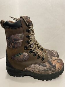 SHE Outdoor Expedition Womens 8M Insulated Hunting Boots Brown/TrueTimber Kanati