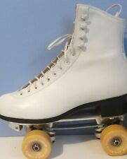 Vintage riedell 297, women's 9.5  Excellent Condition bone Powell wheels