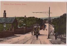 Dunscar Tram Terminus, Bolton Lancashire Postcard, B650