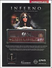 Marty Friedman Wall of Sound Signature Engl Inferno Guitar Amp 8 x 11 ad
