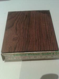 Palisanderholz Abschnitt trocken rißfrei Messergriff dechseln