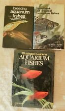 Job Lot bundle Vintage Tropical Fish Breeding Aquarium fishes Hardback Books