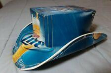 Miller Lite Beer Cardboard Cowboy Hat / Fridge Pack Box / Limited Edition 2009