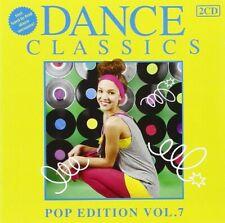 DANCE CLASSICS POP EDITION 7 - WHAM, ROXETTE, TEARS FOR FEARS, OMD 2 CD NEUF