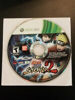 Naruto Shippuden Ultimate Ninja Storm 2 Microsoft Xbox 360 2010 Tested Disc Only
