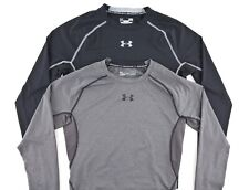 Under Armour Mens Large Compression Heatgear Long Sleeve Athletic Shirt Lot of 2