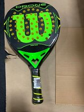 WILSON Drone Power Lite Tennis Paddle 4 1/8 Carbon Power Weave Core Foam
