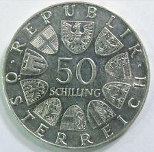 OESTERREICH 50 SCHILLING 1849-1974