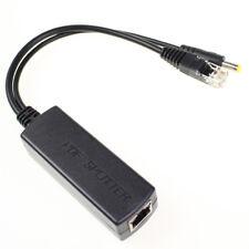 Active PoE Splitter Power Over Ethernet 48V to 12V Compliant IEEE802.3af 15.4W