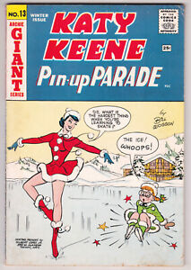 Katy Keene Pin-Up Parade #13 Very Good Plus 4.5 Archie Giant Series 1960