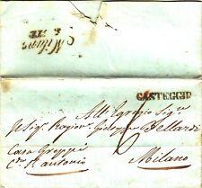 723-PERIODO I° GUERRA D' INDIPENDENZA, PREF., DA CASTEGGIO A MILANO, 1848