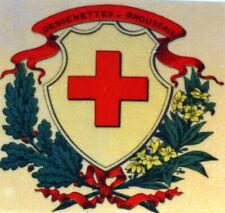 France La Reunion Sheet Philatelic CEF 9 Cfa cross Red 1972