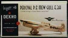 Dekno Models 1/72 PERCIVAL P.6 MEW GULL E.3H 1938 King's Cup Race Version
