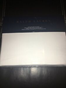 Ralph Lauren Dover Street King Extra Deep Fitted Sheet White $215