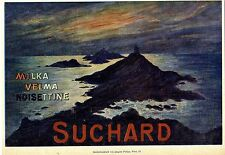 SUCHARD Milka Velma Noisettine Historische Annonce 1909