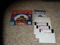 "Harpoon Indian Ocean/Persian Gulf Battleset 4 IBM PC Game 5.25"" disks"