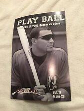 Rancho Cucamonga Quakes California Baseball Brochure 2009 Vs 66ers