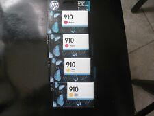 HP 910 YELLOW 2 EA  AND MAGENTA 2 EA
