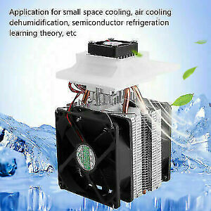 12V 10A Semiconductor Refrigeration Thermoelectric Peltier Air Cooling System