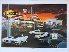 "David Snyder  ""Rocket Fuel"" Oldsmobile 442 W-30 Hurst  Olds Cutlass Sunoco Dave"