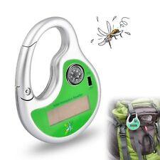Llavero Repelente de Mosquitos Portátil Solar Ultrasonico con Brujula  Aire Libr