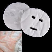 100X Facial Jetable Masque De Coton Papier Masque Cosmétiques Soins De La Peau J