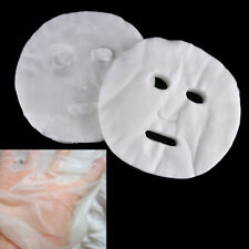 100pcs Disposable Facial Mask Cotton Paper Facemask Cosmetic Face Skin Care ME