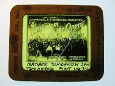 The Phantom Of the Opera 1925 Movie Glass Slide