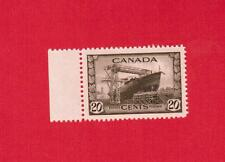 1942   #  260 **  MINT  TIMBRE  CANADA  STAMP  CORVETTE