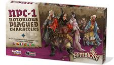 ZOMBICIDE: Black Plague - NPC-1 - Notorious Plagued Characters - Multilingual